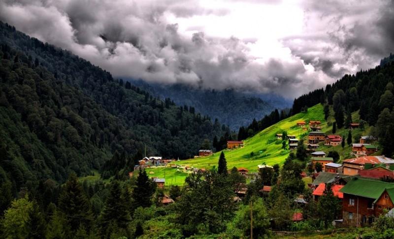 قرية آيدر شمال شرقي تركيا