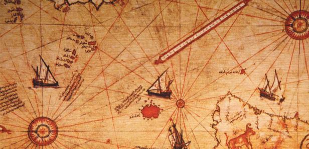 خريطة بيري أقدم الخرائط التي