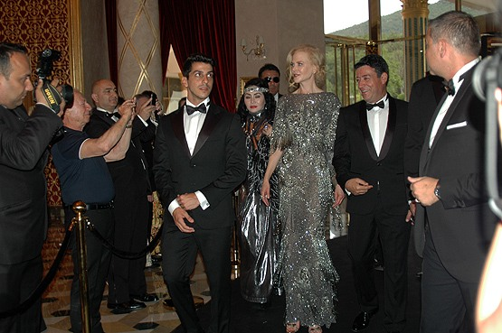 النجمة الهوليودية نيكول كيدمان تشارك في افتتاح فندق ببودروم التركية   ترك برس