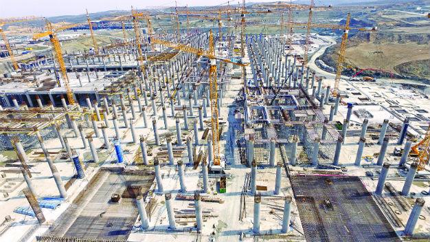 6 من أصل 10 مشاريع عملاقة في العالم موجودة في تركيا   ترك برس