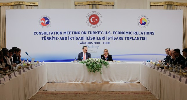 وزيرة التجارة التركية تجتمع مع شركات أمريكية عملاقة لتجنب امتداد التوتر السياسي إلى الاقتصاد   ترك برس