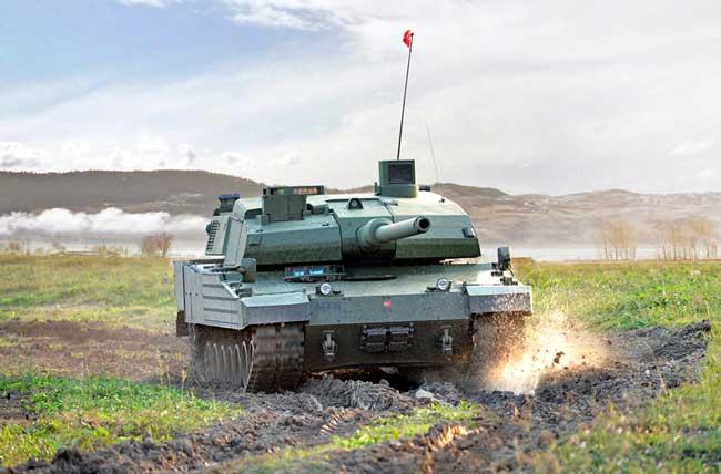 بدء الإنتاج الكمي لدبابة القتال الرئيسية التركية التاي ALTAY Altay-tank650