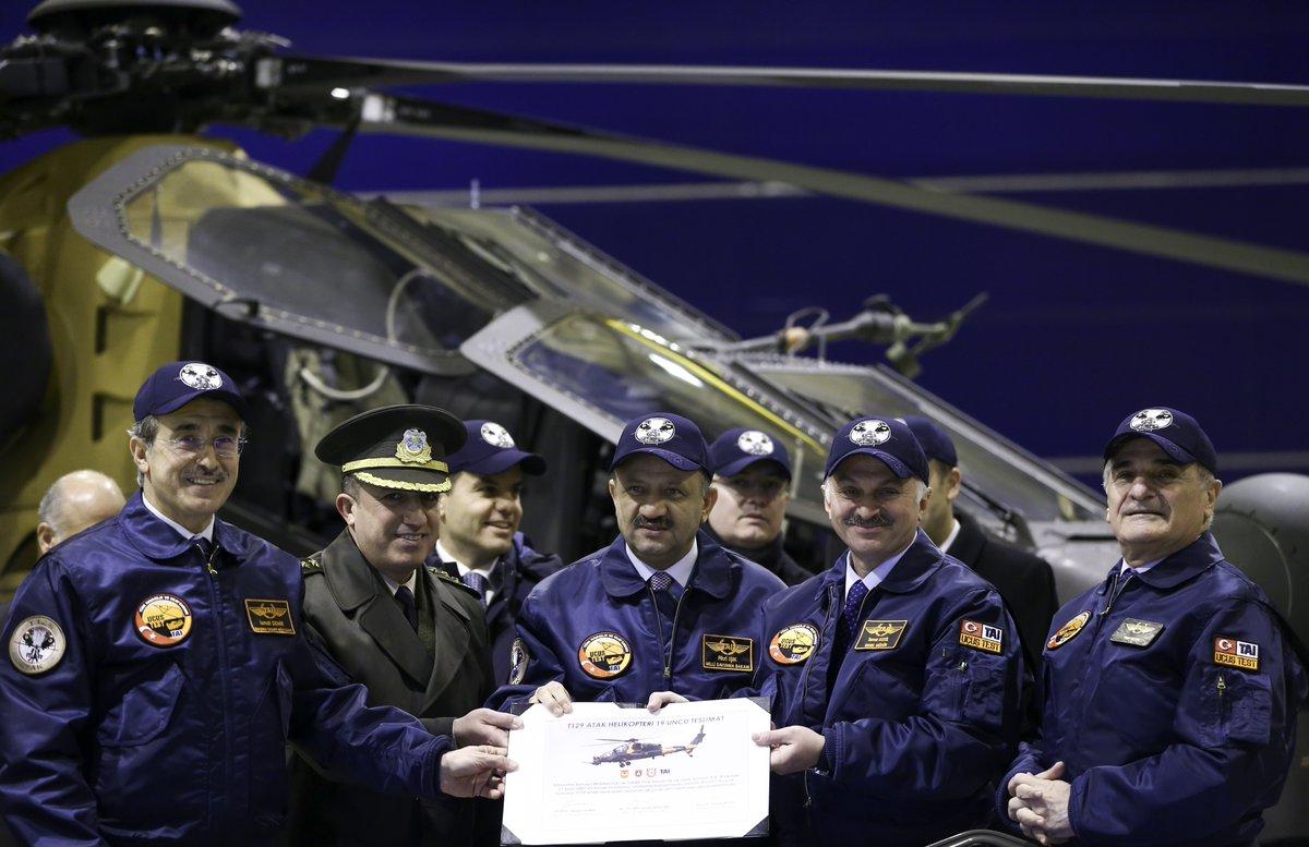 وزير الدفاع التركي : تحليق أول مروحية تركية الصنع سيكون في سبتمبر 2018 C1wk5z1xuaaqhv-