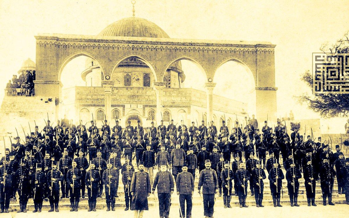 انزعاج إسرائيلي تزويد تركيا الفلسطينيين kudusde-osmanli-askerleri.jpg