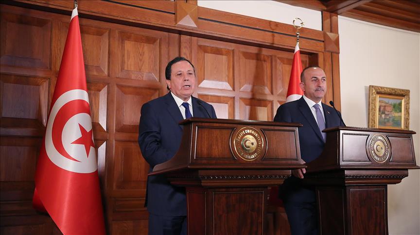 جاويش أوغلو: نأمل من الملك سلمان لعب دور ريادي في حل الأزمة الخليجية   ترك برس