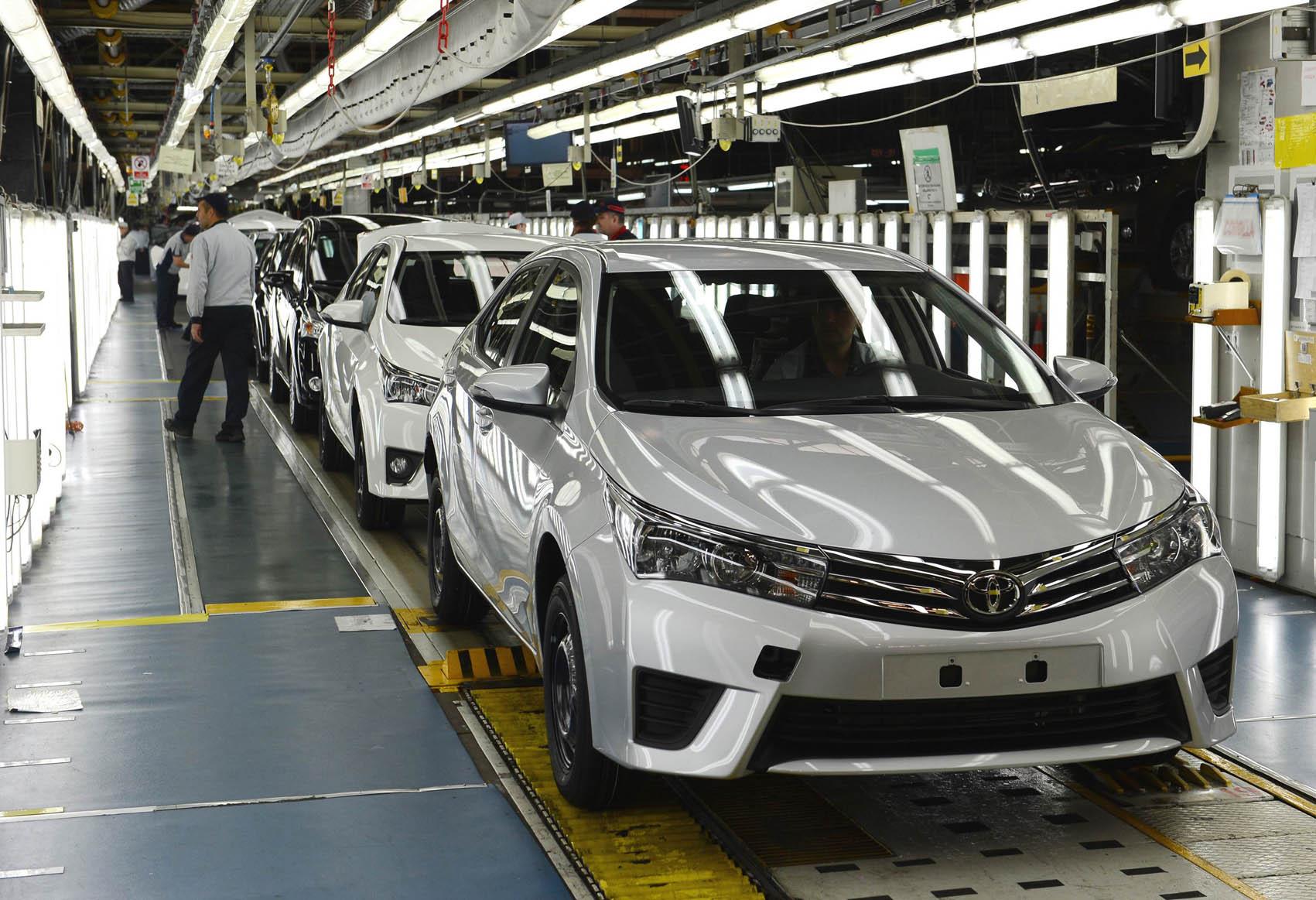 تويوتا تهدف لمضاعفة إنتاجها في تركيا خلال عام 2017م   ترك برس