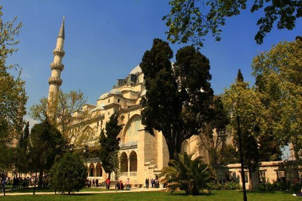 مسجد السليمانية istanpul